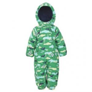 Комбинезон  утепленный, цвет: зеленый Lappi Kids