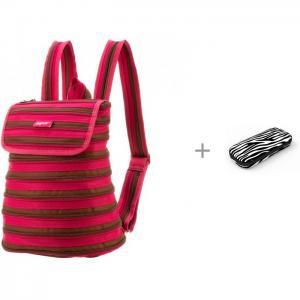 Рюкзак Zipper Backpack с пеналом Colorz Box Zipit