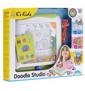 Доска для рисования Ks Kids с обучающими карточками, 30 х см K's
