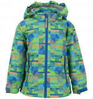 Куртка  Звезды, цвет: зеленый IcePeak