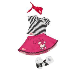 Комплект одежды с юбкой пуделем Our Generation Dolls