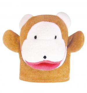 Мочалка-рукавичка  Животные Обезьяна Сказка