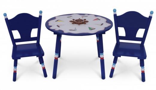 Комплект из стола и двух стульев Маленький Капитан Major-Kids