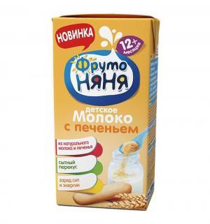 Коктейль  молоко с печеньем, 200 мл ФрутоНяня