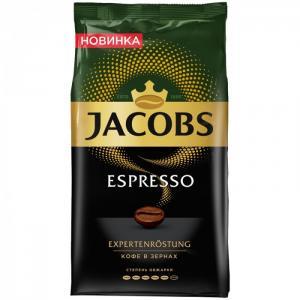 Кофе в зернах Espresso 1 кг Jacobs