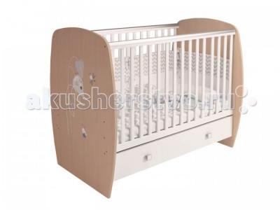 Детская кроватка  French 710 Amis (ящик) Polini
