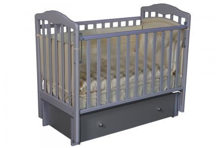 Кровать  Алита 4/6, цвет: серый Антел
