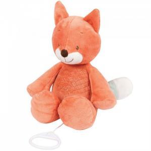 Мягкая игрушка  Musical Soft toy Fanny & Oscar Лисёнок музыкальная 27 см Nattou