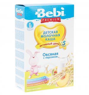 Каша  молочная овсяная с персиком 5 месяцев 250 г Bebi