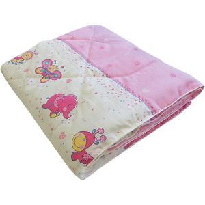 Одеяло  Ласовое лето розовое Soni Kids. Цвет: розовый