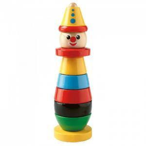 Деревянная игрушка  Пирамидка клоун 30120 Brio
