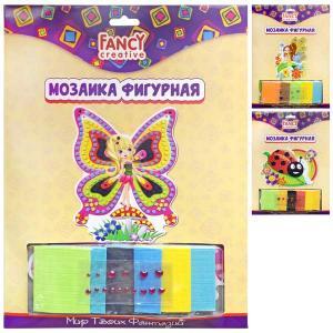 Мозаика  из мягких плиток и страз фигурная Fancy Creative