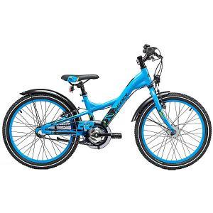 Двухколесный велосипед  XXlite 20, голубой Scool. Цвет: голубой