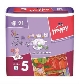 Подгузники  Junior 5 (12-25 кг) 21 шт. Bella Baby Happy