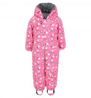 Комбинезон  утепленный, цвет: розовый Taika by Lappi kids