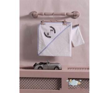 Комплект полотенце-уголок + варежка Lets Race Kidboo