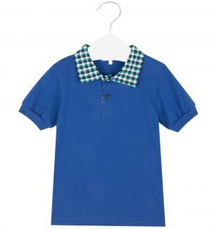 Футболка-поло , цвет: синий Semicvet