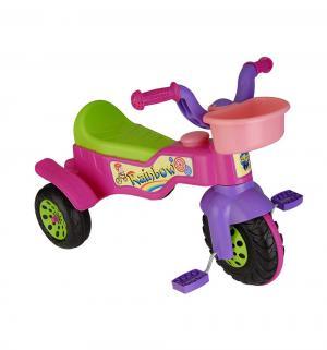 Трехколесный велосипед  Rainbow, цвет: розовый Pilsan