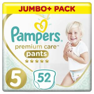 Подгузники-трусики  Premium Care Pants (12-17 кг) 52 шт. Pampers