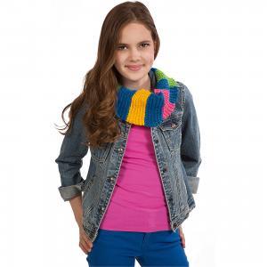Набор для вязания спицами Круговой шарф ALEX