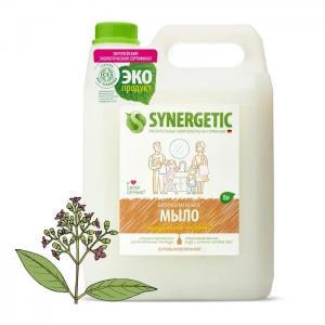 Мыло жидкое Миндальное молочко 5 л Synergetic