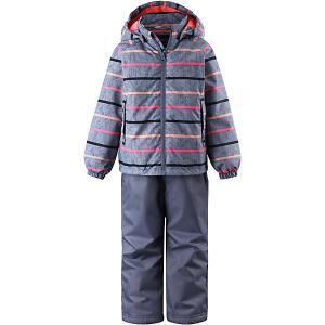 Комплект : куртка и полукомбинезон Lassie. Цвет: серый