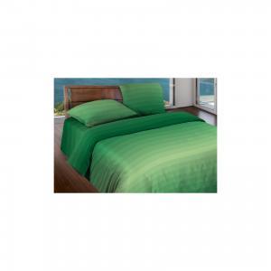 Постельное белье 2,0 сп. Flow Green БИО Комфорт,  Motion Wenge