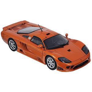 Коллекционная машинка  Saleen S7, 1:18, оранжевая Autotime. Цвет: оранжевый