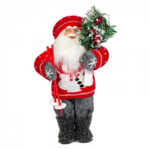 Дед Мороз с Лыжами Maxitoys