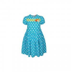 Платье  для девочки M&D. Цвет: голубой