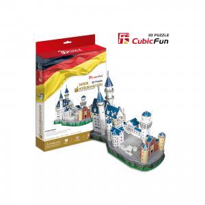 Пазл 3D Замок Нойшванштайн (Германия), CubicFun