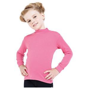 Водолазка  для девочки Norveg. Цвет: розовый