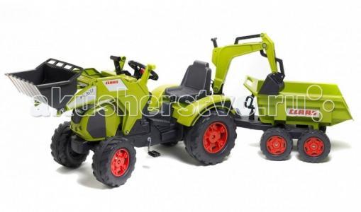 Трактор-экскаватор с прицепом 1010W Falk