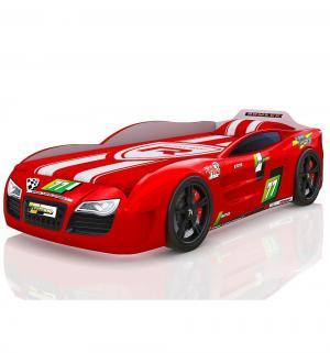 Кровать-машинка  Renner 2, цвет: красный Romack