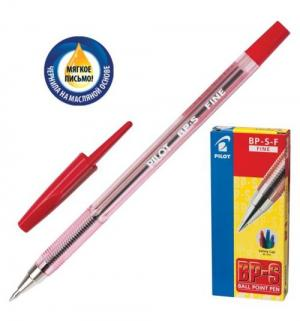 Ручка шариковая масляная  BP-S-F красн Pilot