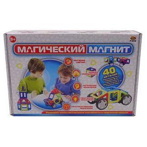 Конструктор  Магический магнит, 40 деталей ABtoys