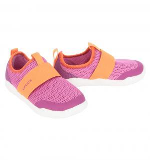 Кроссовки  Swiftwater Easy-on Shoe K PtPk/Tng C9, цвет: розовый Crocs