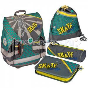 Школьный ранец Skateboarding Ergo Style+ с наполнением 11691 Spiegelburg