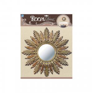 Декоративное зеркало большое № 1, , золото Room Decor