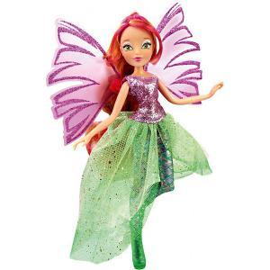 Кукла  Чудесная Сиреникс Флора, 35,5 см Winx Club