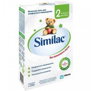 Молочная смесь  2 6-12 месяцев, 350 г Similac