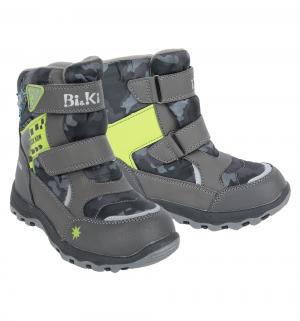 Ботинки , цвет: серый Bi&Ki