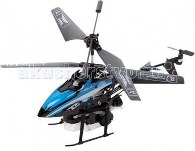 Вертолет на ИК Fly-0238 с мыльными пузырями От винта!