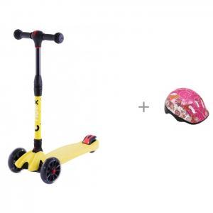 Шлем с трехколесным самокатом Ridex 3D Stark Action