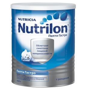 Молочная смесь  Пепти Гастро 0-6 месяцев, 450 г Nutrilon