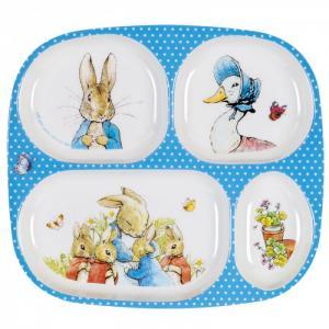 Тарелка с секциями Peter Rabbit Petit Jour