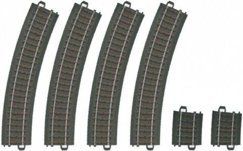Набор расширения рельсовых путей 6 шт. Marklin