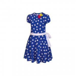Платье  для девочки M&D. Цвет: синий