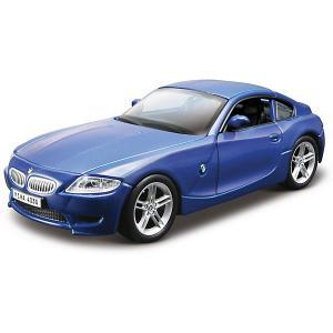 Коллекционная машинка  BMW Z4 M Coupe 1:32, синяя Bburago. Цвет: синий