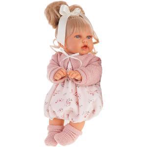 Кукла Antonio Juan Лухан, 27 см Munecas. Цвет: розовый